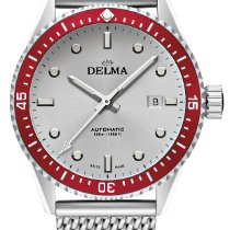 Delma Steel 42mm Automatic Cayman Automatic 41801.706.6.066 new
