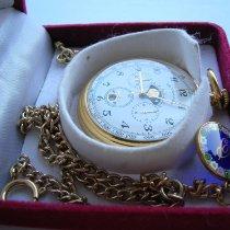 Tissot Sat rabljen Zlato/Zeljezo 47mm Arapski brojevi Rucno navijanje Samo sat