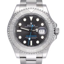 Rolex Yacht-Master 40 Platinum 40mm Grey No numerals