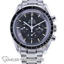 Omega Speedmaster Professional Moonwatch Aço 40mm Preto Sem números