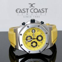 Audemars Piguet Royal Oak Offshore Chronograph Stahl 42mm Gelb