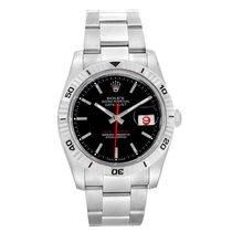Rolex Datejust Turn-O-Graph Acier 36mm Noir