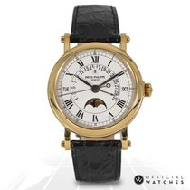 Patek Philippe Perpetual Calendar Yellow gold 36mm White Roman numerals