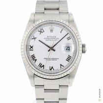Rolex Datejust 16220 Meget god Stål 36mm Automatisk