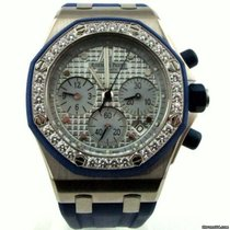 Audemars Piguet White gold Automatic new Royal Oak Offshore Lady