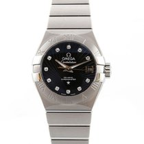 Omega Constellation Co-Axial Brushed Chronometer