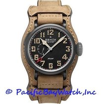 Zenith Pilot Type 20 GMT Titanium 48mm Black Arabic numerals United States of America, California, Newport Beach
