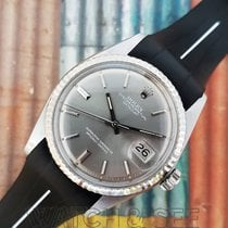 Rolex RARE Datejust Ref 1601 Grey Sigma Dial White Gold Watch