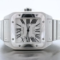 Cartier Santos 100 W200737g W/ Box And Booklets