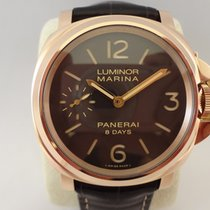 パネライ (Panerai) Panerai Luminor Marina 8 Days  PAM511 Pink Gold...