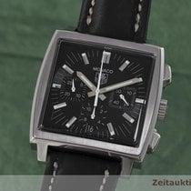 TAG Heuer Monaco Chronograph Automatik Edelstahl Cw2111 Herrenuhr