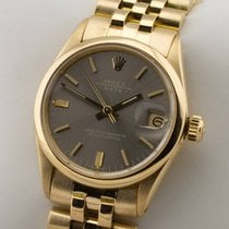 Rolex Datejust Medium Midsize 18K Gold Gelbgold Automatic...
