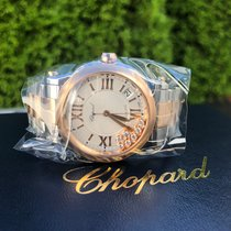 Chopard Happy Sport Staal 36mm Zilver Romeins