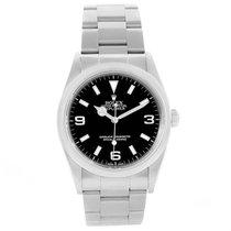 Rolex Explorer I Black Dial Automatic Steel Mens Watch 114270