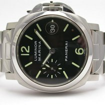 Panerai Luminor Marina Pam00050 Automatic Stainless Steel...