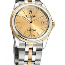 Tudor Glamour Date Gold/Steel 36mm Champagne