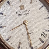 Movado Ultra Rare Zenith Microrotor Gold 18 kt  35mm+crown Cal...