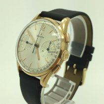 Zenith Yellow gold Manual winding White No numerals 34.4mm pre-owned