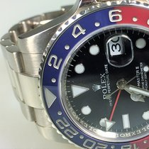 Rolex GMT-Master II, Ref. 116719BLRO, LC 100, Full Set, neuwertig