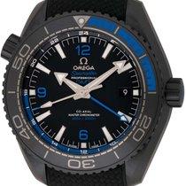 Omega : Seamaster Planet Ocean GMT 'Deep Black' Blue : ...