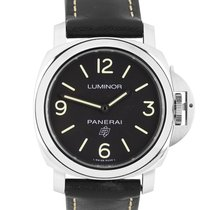 Panerai Luminor Base Logo Steel 44mm Black Arabic numerals United States of America, New York, Smithtown