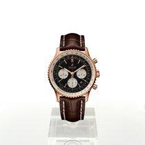 Breitling Navitimer 1 B01 Chronograph 43 Rose gold 43mm Black