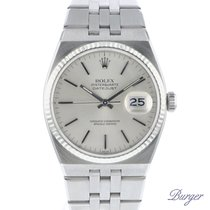 Rolex Datejust Oysterquartz Acero 36mm Plata