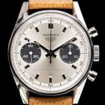 Heuer Steel 35mm Manual winding 7753SND pre-owned