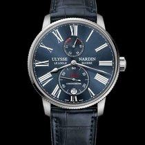 Ulysse Nardin new Automatic Chronometer 42mm Steel Sapphire Glass