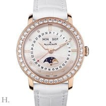 Blancpain Rose gold Automatic Mother of pearl 35mm new Villeret Moonphase