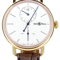Bell & Ross Rose gold Automatic White 45mm pre-owned Vintage