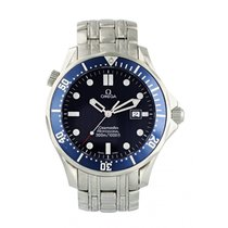 Omega Seamaster Diver 300 M Steel 41mm Blue United States of America, New York, New York