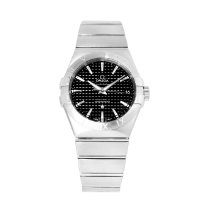 Omega Constellation Men Сталь 38mm Чёрный