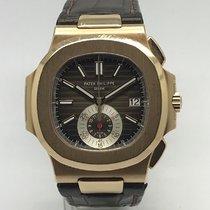 Patek Philippe 5980 Rose gold 2017 Nautilus 40mm pre-owned