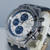 Maurice Lacroix AIKON Steel 44mm Silver No numerals