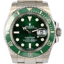 Rolex Submariner Date Steel 40mm Green No numerals New Zealand, Auckland