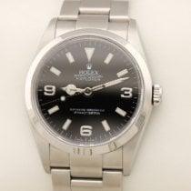 Rolex Explorer Stahl 36mm Schwarz Arabisch Deutschland, MÜNCHEN