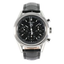 TAG Heuer Carrera Calibre 17 Steel 39mm Black United Kingdom, Sutton