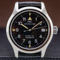 IWC Pilot Mark Steel 36mm Black Arabic numerals United States of America, Massachusetts, Boston