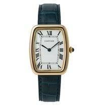 Cartier Tonneau Yellow gold 26mm White