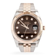 Rolex Datejust II Steel 41mm Brown No numerals United States of America, Texas, Dallas