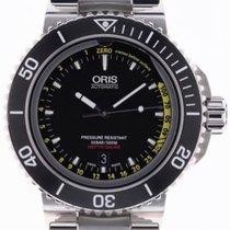 Oris Aquis Depth Gauge new 2018 Automatic Watch with original box and original papers 733 7675 4154