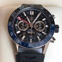 TAG Heuer Carrera Steel 45mm Transparent No numerals