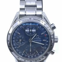 Omega Speedmaster Day Date Acero 39mm Azul