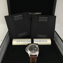 Panerai LUMINOR SUBMERSIBLE 1950 LEFT-HANDED 3 DAYS AUTOMATIC...