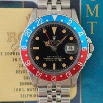 Rolex GMT-MASTER Ref. 1675 Glossy Gilt Dial Cornino