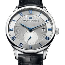 Maurice Lacroix Masterpiece Small Seconde Stahl