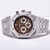 Audemars Piguet Royal Oak Chronograph Brown New Old Stock 26300ST