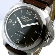 Panerai Unworn  Pam 270 Steel Luminor 44 Mm 1950 10 Days Gmt...