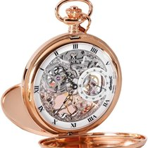 Ingersoll IN9010RG pocket watch with manual winding 54mm
